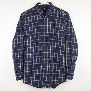 Uniqlo Mens M Slim Fit Button Down Work Shirt